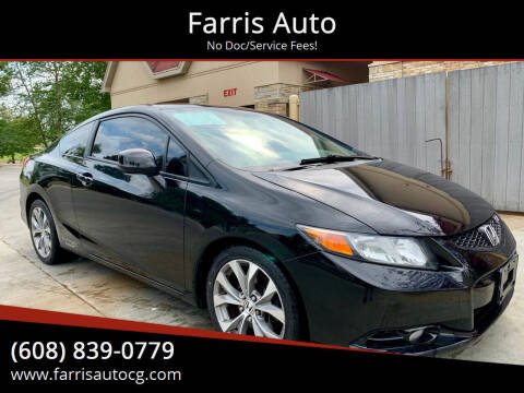 2012 Honda Civic for sale at Farris Auto in Cottage Grove WI