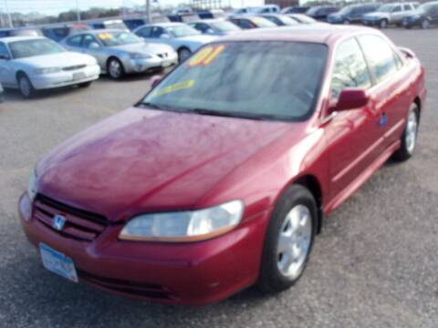 2001 Honda Accord for sale at Country Side Car Sales in Elk River MN