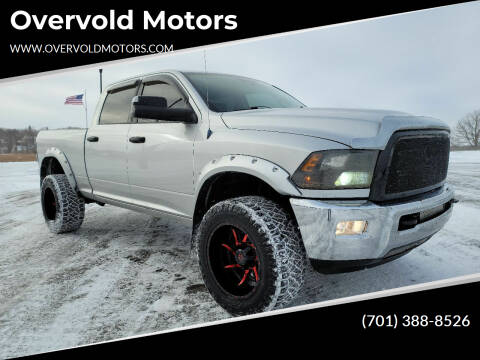 2012 RAM Ram Pickup 2500 for sale at Overvold Motors in Detriot Lakes MN