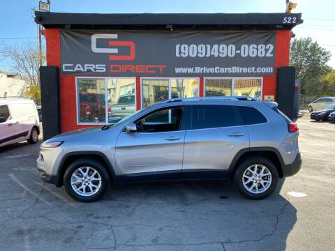 2015 Jeep Cherokee for sale at Cars Direct in Ontario CA