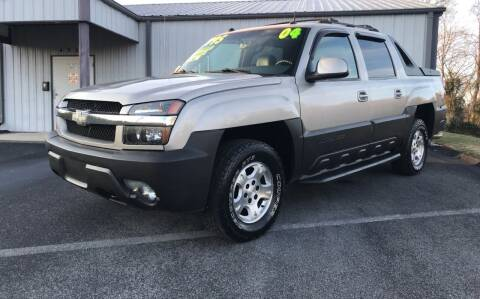 2004 Chevrolet Avalanche for sale at Auto Liquidators in Bluff City TN