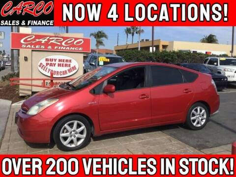 2009 Toyota Prius for sale at CARCO SALES & FINANCE - Under 7000 in Chula Vista CA