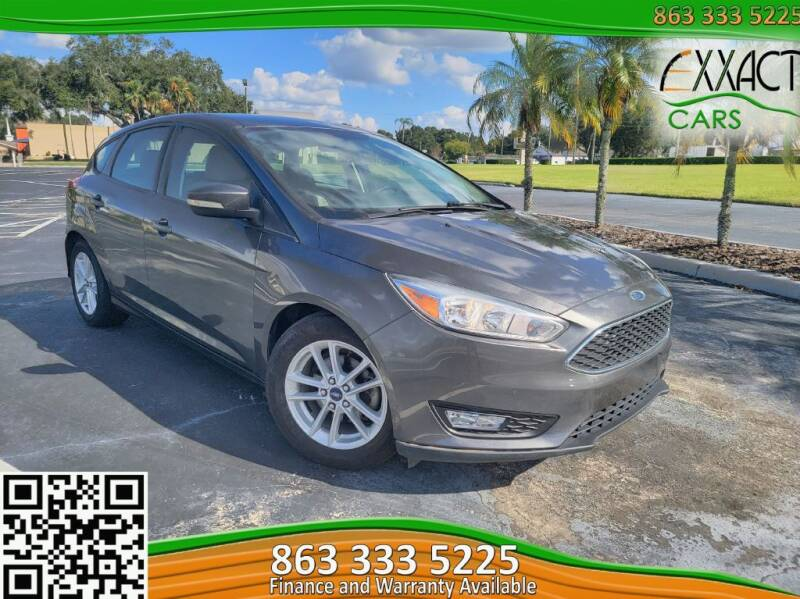 2015 Ford Focus for sale at Exxact Cars in Lakeland FL