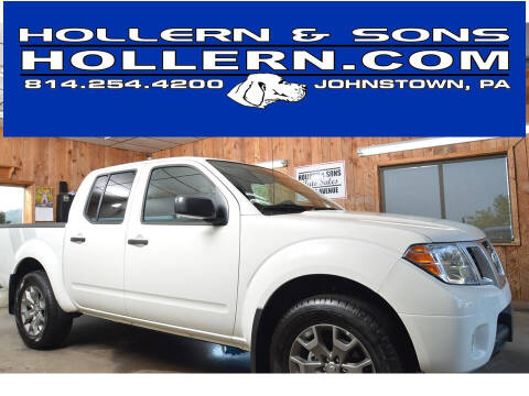 2020 Nissan Frontier for sale at Hollern & Sons Auto Sales in Johnstown PA