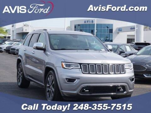 2018 Jeep Grand Cherokee for sale at Work With Me Dave in Southfield MI