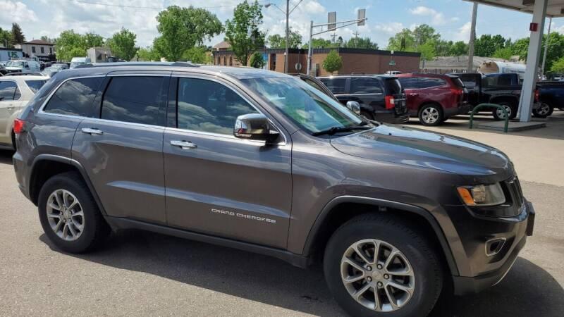 2016 Jeep Grand Cherokee for sale at North Metro Auto Sales in Cambridge MN