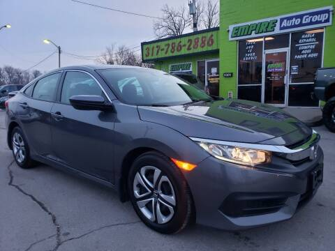 2018 Honda Civic for sale at Empire Auto Group in Indianapolis IN