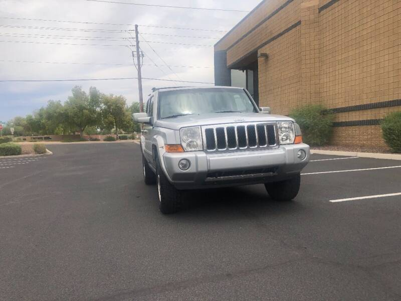 2008 Jeep Commander for sale at Scottsdale Collector Car Sales in Tempe AZ