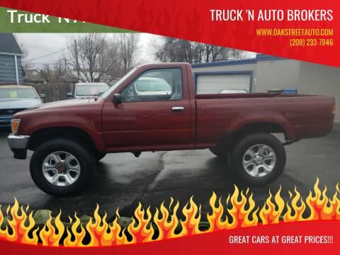 1991 Toyota Pickup for sale at Oak Street Auto DBA Truck 'N Auto Brokers in Pocatello ID