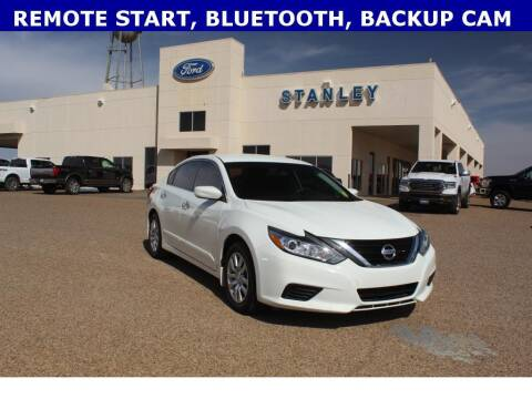 2018 Nissan Altima for sale at STANLEY FORD ANDREWS in Andrews TX