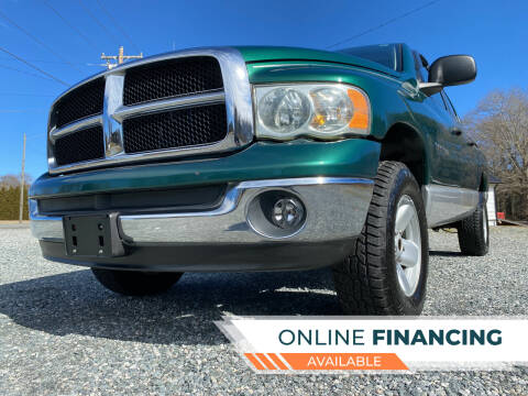 2003 Dodge Ram Pickup 1500 for sale at Prime One Inc in Walkertown NC