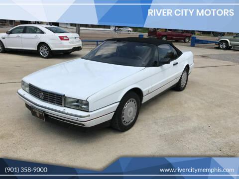 1992 Cadillac Allante for sale at River City Motors in Memphis TN