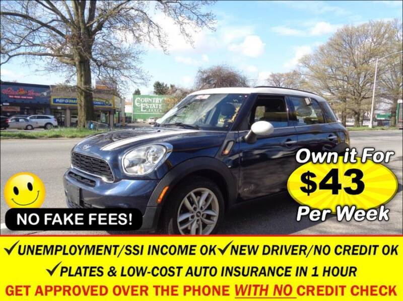 2012 MINI Cooper Countryman for sale in Elmont, NY