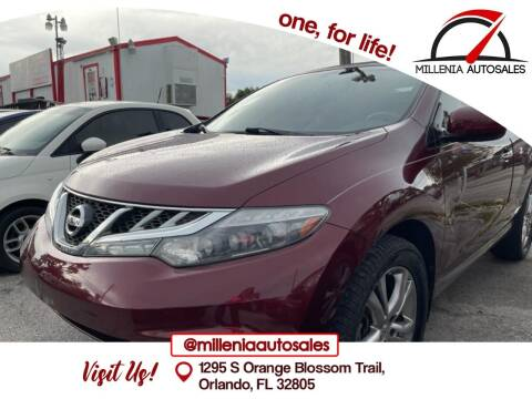 2011 Nissan Murano CrossCabriolet for sale at Millenia Auto Sales in Orlando FL