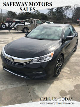 2017 Honda Accord for sale at Safeway Motors Sales in Laurinburg NC