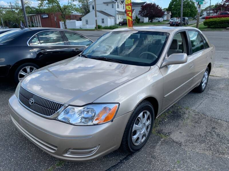 2002 Toyota Avalon for sale at Jerusalem Auto Inc in North Merrick NY