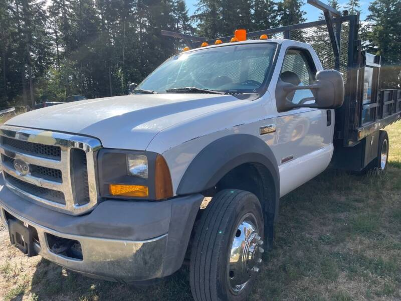2005 Ford F-450 Super Duty for sale at DirtWorx Equipment - Trucks in Woodland WA