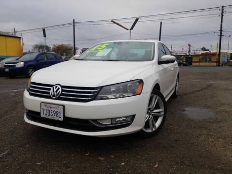 2015 Volkswagen Passat for sale at Golden Gate Auto Sales in Stockton CA