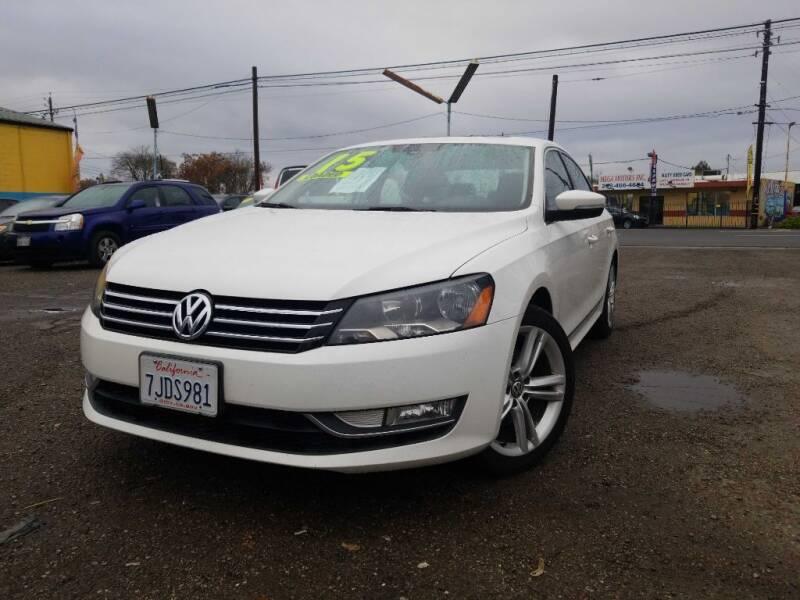 2015 Volkswagen Passat for sale at Golden Gate Auto Sales in Stockton CA