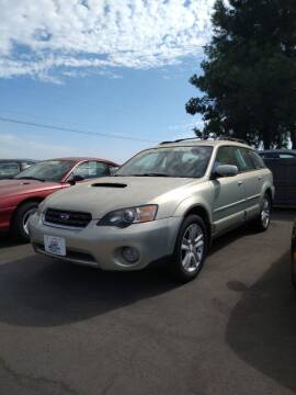 2005 Subaru Outback for sale at M AND S CAR SALES LLC in Independence OR