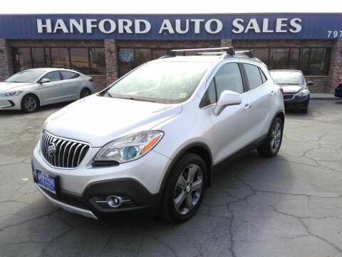 2013 Buick Encore for sale at Hanford Auto Sales in Hanford CA