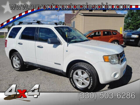 2008 Ford Escape for sale at Coventry Auto Sales in Youngstown OH