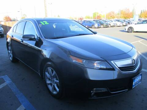 2012 Acura TL for sale at Choice Auto & Truck in Sacramento CA