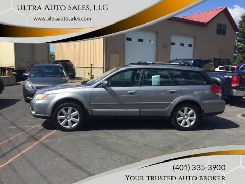 2008 Subaru Outback for sale at Ultra Auto Sales, LLC in Cumberland RI