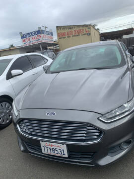 2014 Ford Fusion for sale at GRAND AUTO SALES - CALL or TEXT us at 619-503-3657 in Spring Valley CA
