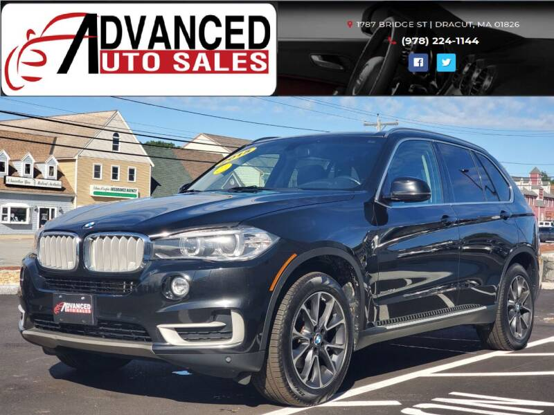2015 BMW X5 for sale at Advanced Auto Sales in Dracut MA