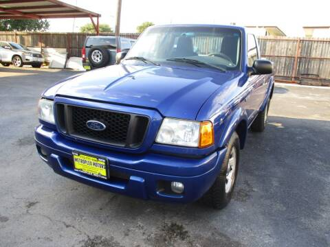 2005 Ford Ranger for sale at Metroplex Motors Inc. in Houston TX