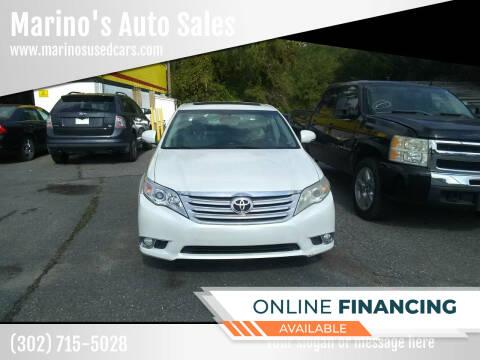 2011 Toyota Avalon for sale at Marino's Auto Sales in Laurel DE