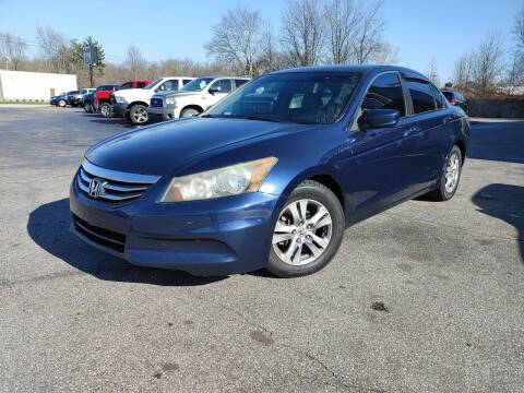 2011 Honda Accord for sale at Cruisin' Auto Sales in Madison IN