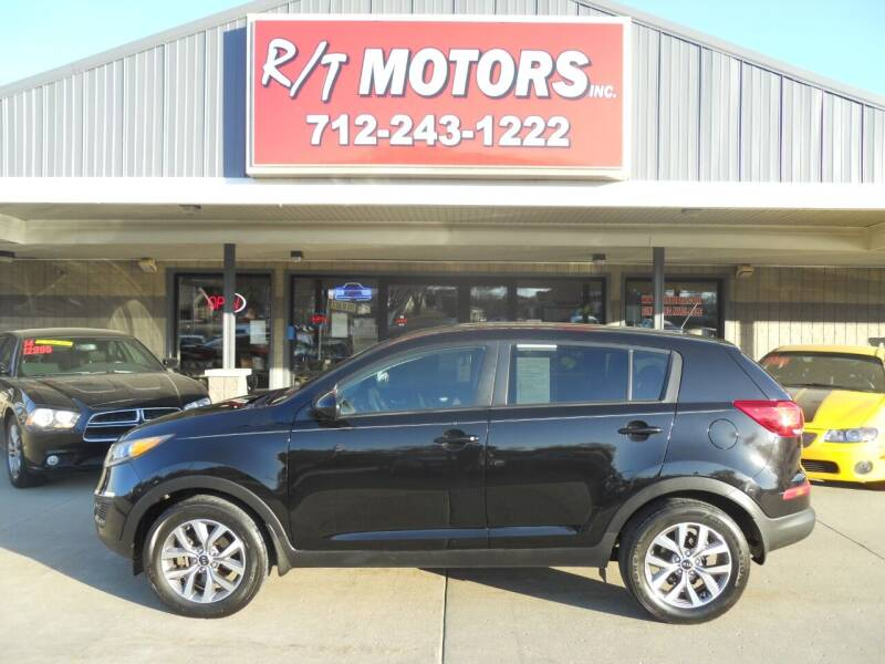 2015 Kia Sportage for sale at RT Motors Inc in Atlantic IA