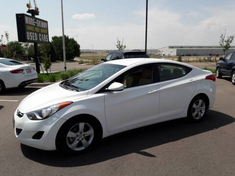 2014 Hyundai Elantra for sale at More-Skinny Used Cars in Pueblo CO