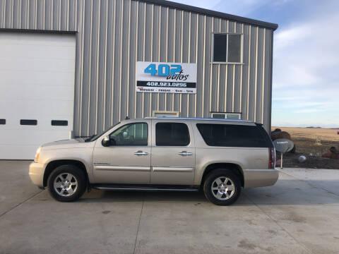 2007 GMC Yukon XL for sale at 402 Autos in Lindsay NE