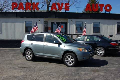 2008 Toyota RAV4 for sale at Park Ave Auto Inc. in Worcester MA