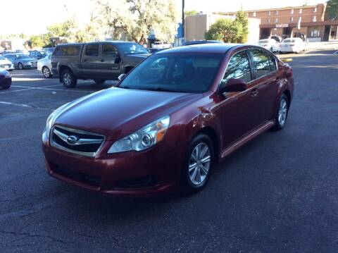 2012 Subaru Legacy for sale at AROUND THE WORLD AUTO SALES in Denver CO