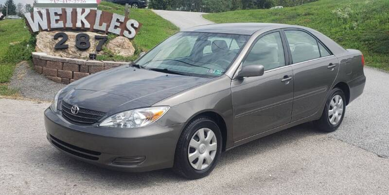 2004 Toyota Camry for sale at WEIKLES SPECIALTY in Felton PA