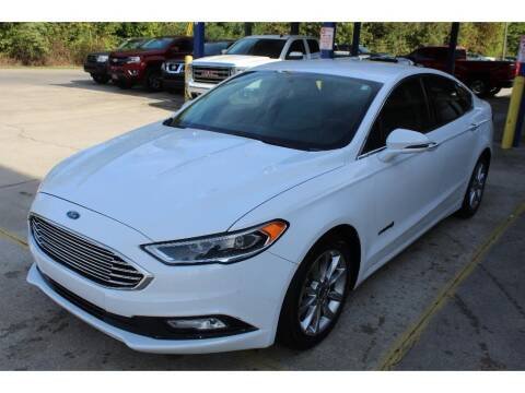 2017 Ford Fusion Hybrid for sale at Inline Auto Sales in Fuquay Varina NC