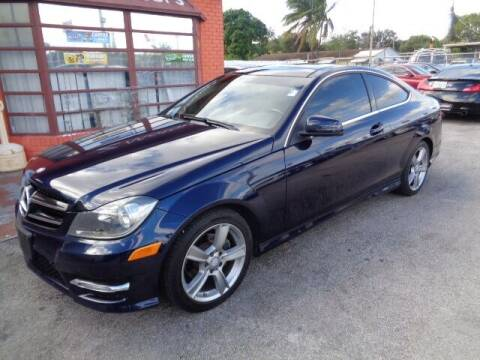 2015 Mercedes-Benz C-Class for sale at Z MOTORS INC in Hollywood FL