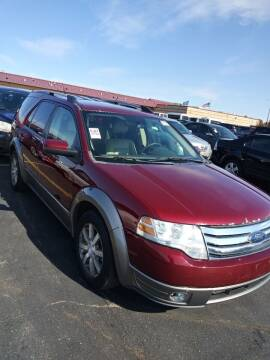 2008 Ford Taurus X for sale at WB Auto Sales LLC in Barnum MN