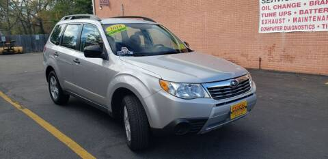 2010 Subaru Forester for sale at Exxcel Auto Sales in Ashland MA