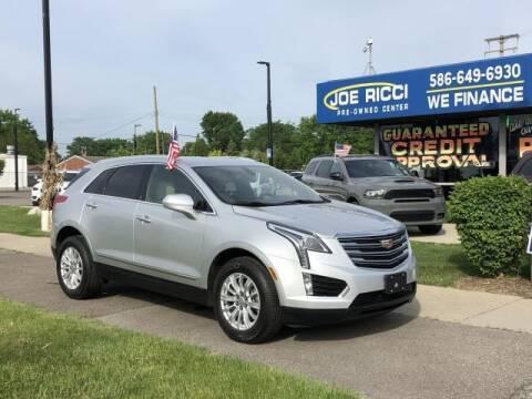 2017 Cadillac XT5 for sale at JOE RICCI AUTOMOTIVE in Clinton Township MI
