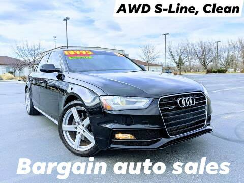 2014 Audi A4 for sale at Bargain Auto Sales LLC in Garden City ID