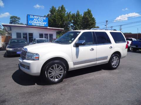 2008 Lincoln Navigator for sale at Surfside Auto Company in Norfolk VA
