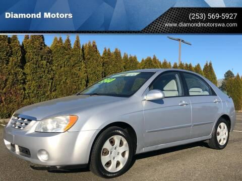 2006 Kia Spectra for sale at Diamond Motors in Lakewood WA