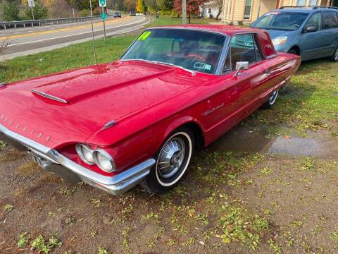 1964 Ford Thunderbird for sale at Richard C Peck Auto Sales in Wellsville NY