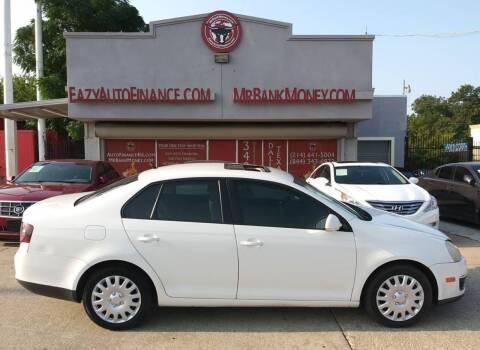 2009 Volkswagen Jetta for sale at Eazy Auto Finance in Dallas TX