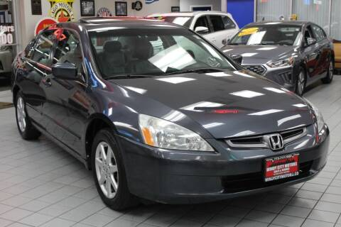 2004 Honda Accord for sale at Windy City Motors in Chicago IL